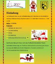 Weihnachtsprogramm Fussball 2017