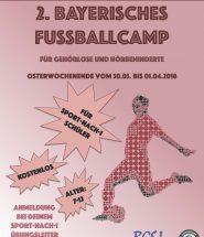Fußballcamp_Plakat_rot