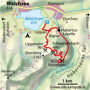 Almhopping am Walchsee