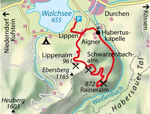 Almhopping über dem Walchsee am 15.06.2019