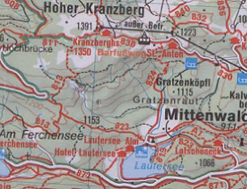 Wandern im November – Mittenwald-Lautersee