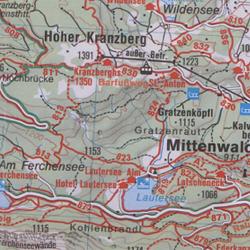 Herbstwanderung Mittenwald-Lautersee
