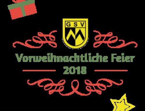 Vorweihnachtliche Feier 2018