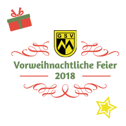 Vorweihnachtliche Feier der GSV München