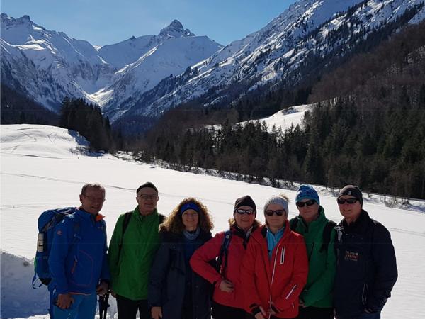 Winterwanderbericht Oberstdorf Gerstruben Februar 2019