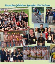 Sportfest Gruppenfoto